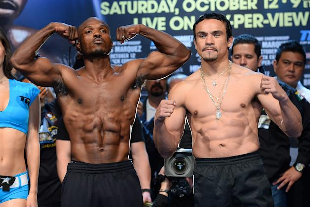Timothy Bradley Jr. v Juan Manuel Marquez - Weigh-In