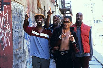 Chris Rock , J.B. Smoove , Lance Crouther and Mario Joyner in Paramount's Pootie Tang