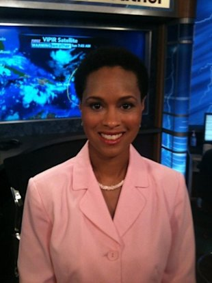 This isn't the first time meteorologist Rhonda Lee's short hair has affected her job, she says. (Photo: Facebook)
