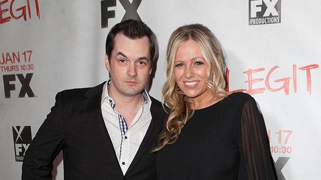 """Legit"" - Los Angeles Premiere: Jim Jefferies and Kate Luyben"