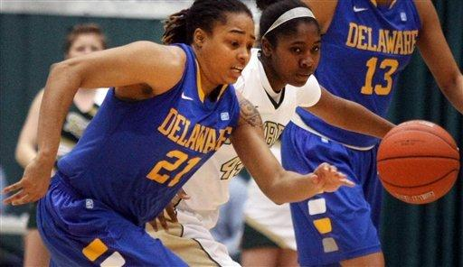 Delle Donne's double-double lifts No. 8 Delaware