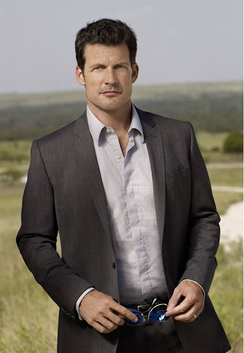 "Mark Deklin stars as Trammel Thatcher in ""Lone Star."""