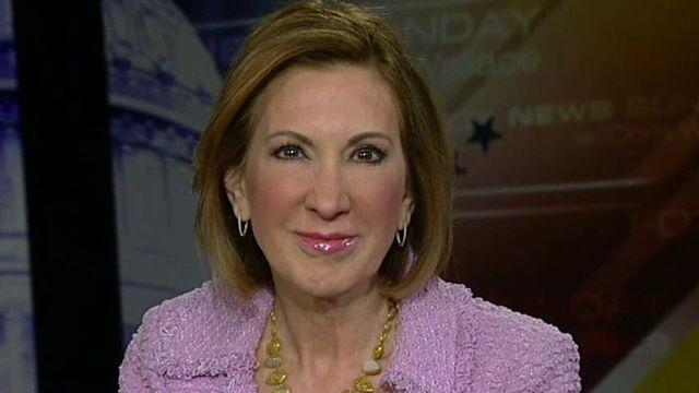 Fiorina likely GOP presidential candidate, attacks Clinton