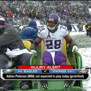 Ian Rapoport: Minnesota Vikings running back Adrian Peterson not expected to play
