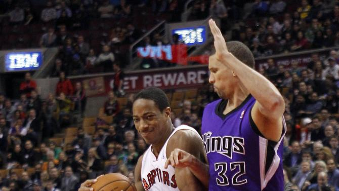 NBA: Sacramento Kings at Toronto Raptors