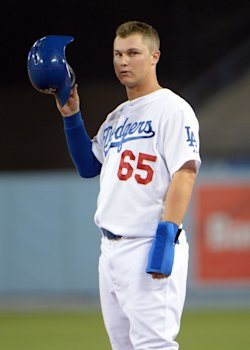 Joc Pederson got the start in center field against the Nationals. (USA Today)