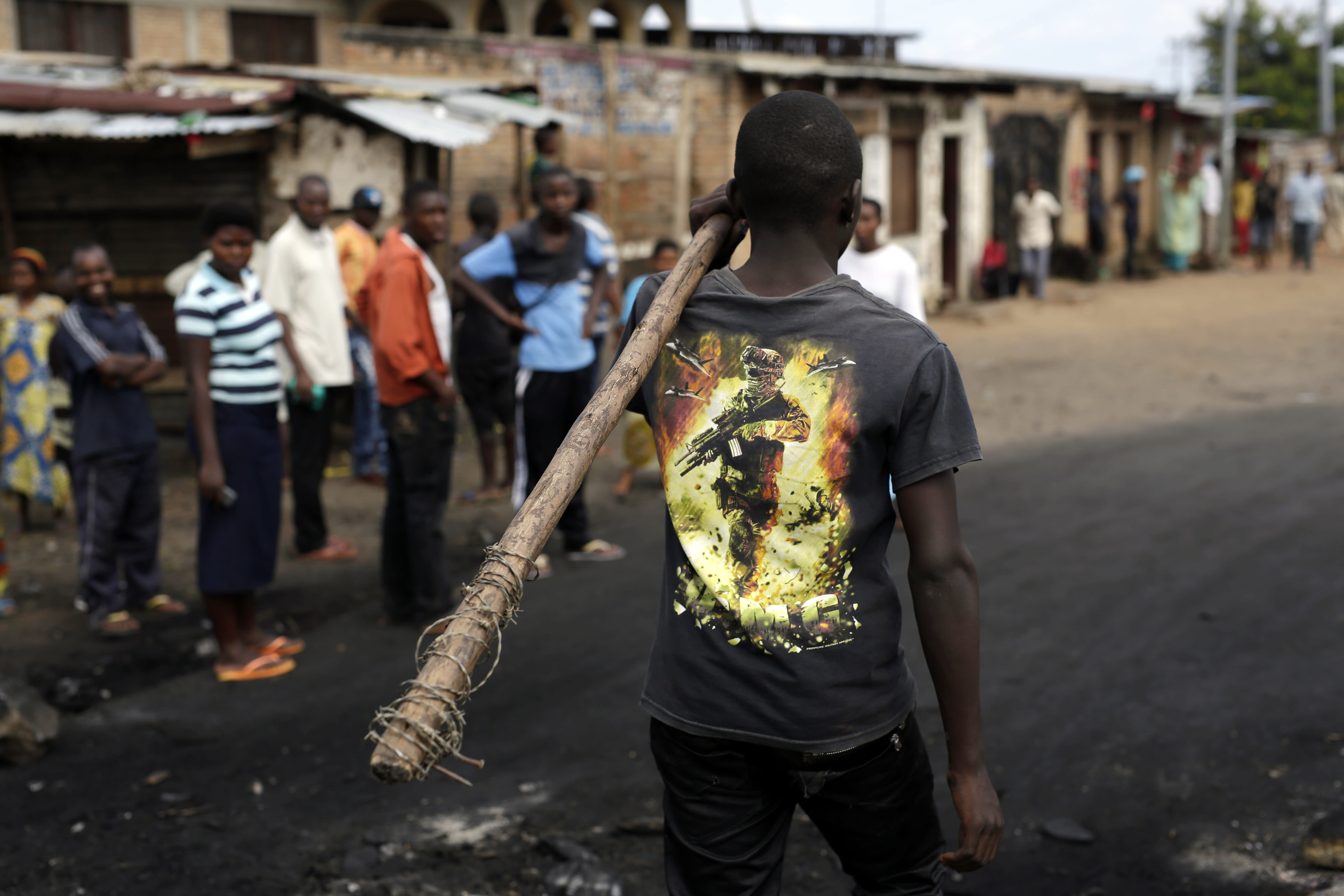 Arrests rise in Burundi protests; protesters vow to remain