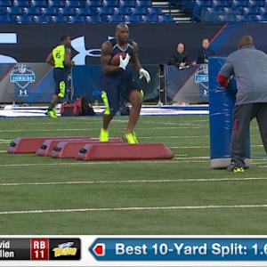 2014 Combine workout: David Fluellen