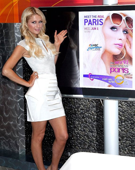 Paris Hilton Book Signing