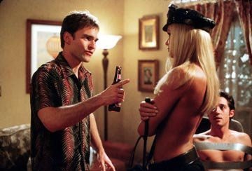 Nikki Schieler Ziering , Seann William Scott , and Thomas Ian Nicholas in American Wedding