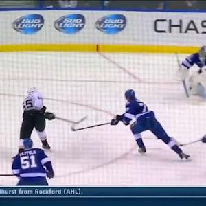 Emerson Etem puts the moves on Lightning D