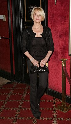 Ellen Barkin at the New York City premiere of Warner Bros. Pictures' Michael Clayton