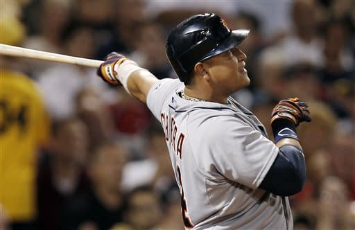 Cabrera, Fielder hit consecutive HRs, Tigers win