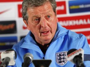 England manager Roy Hodgson attends a media conference at a hotel in Watford