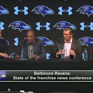 Baltimore Ravens state of the franchise news conference