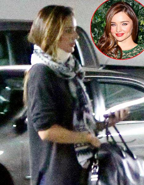 Miranda Kerr Wears Neck Brace After Car Crash Injury: Report