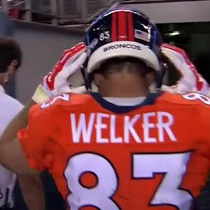 NFL NOW: Denver Broncos WR Wes Welker suffers concussion