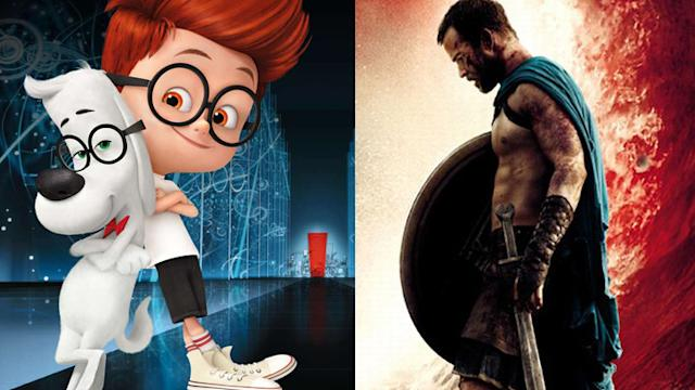 '300' vs 'Peabody y Sherman', lucha en la cartelera