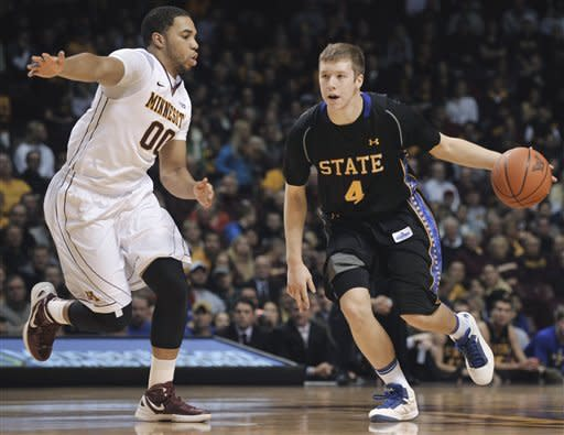 Andre Hollins helps No. 14 Minn. beat SDSU 88-64