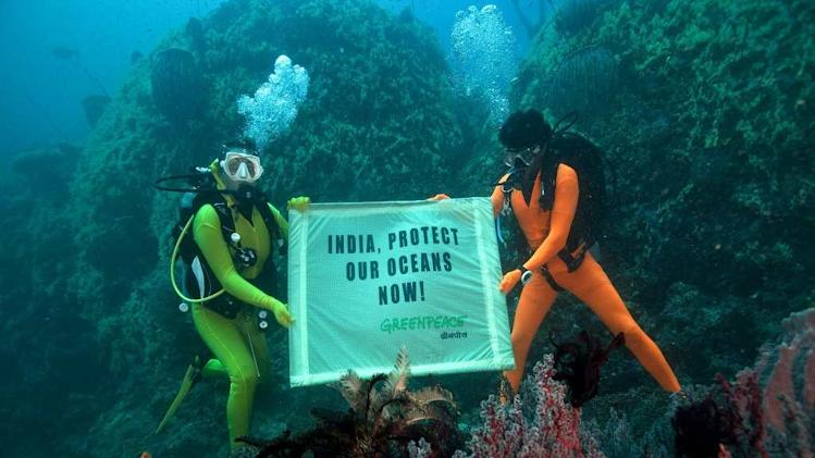 Travel India Andaman Ocean Greenpeace