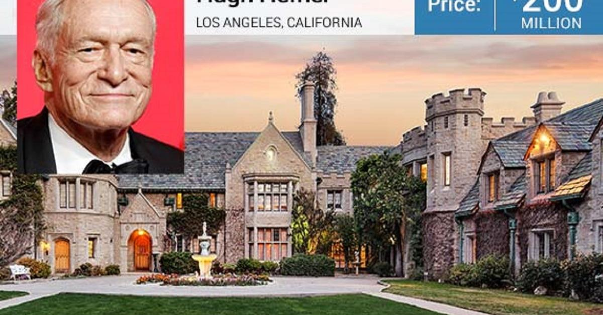 Hefner's Iconic Playboy Mansion For Sale