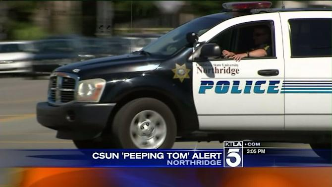 Peeping Toms Sought in Cal State Northridge Incidents