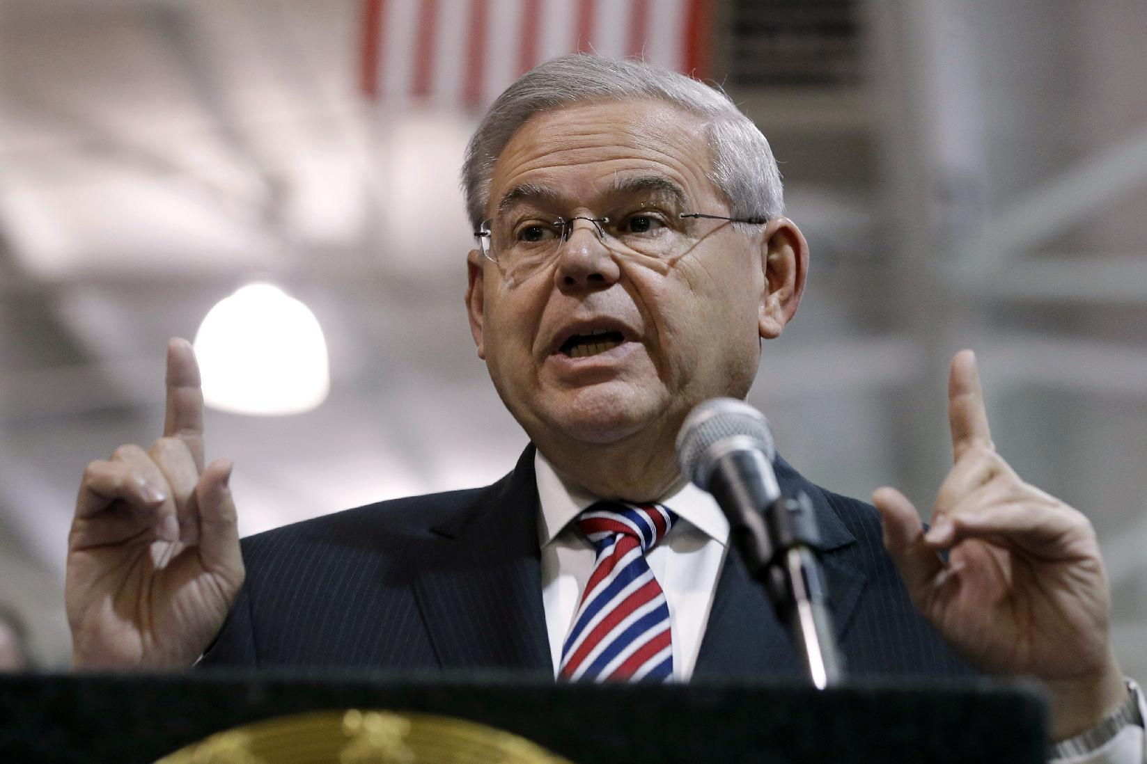 New Jersey Sen. Bob Menendez indicted on corruption charges