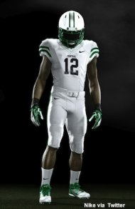 Miami Central's Nike Pro Combat uniform