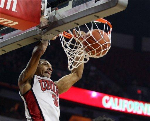 No. 19 UNLV beats Central Arkansas 124-75
