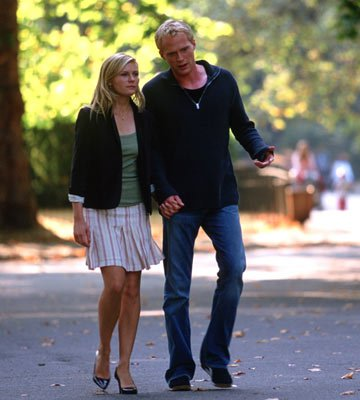 Kirsten Dunst and Paul Bettany in Universal Pictures' Wimbledon
