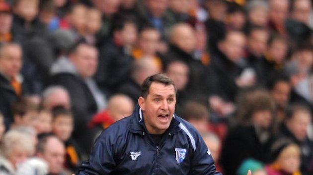 Martin Allen's Gillingham hold a four-point lead at the top of League Two