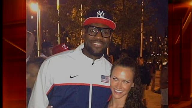 LeBron asks Olympian to dinner, gets turned down