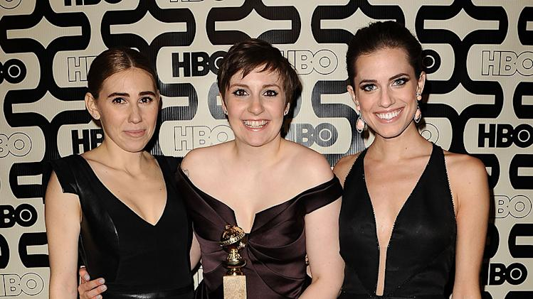 HBO's 70th Annual Golden Globes After Party: Zosia Mamet, Lena Dunham and Allison Williams