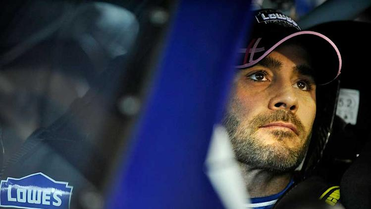Johnson paces field in Martinsville practice