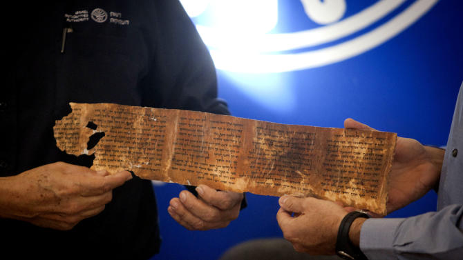 Google launches Dead Sea Scrolls online library