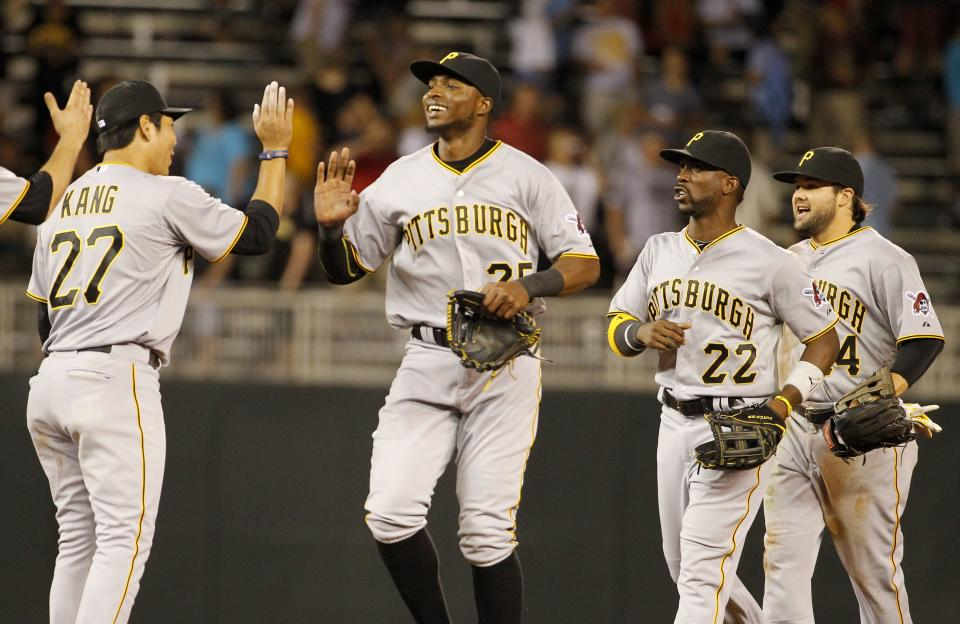 Kang's homer sends Pirates to 8-7 win over Twins