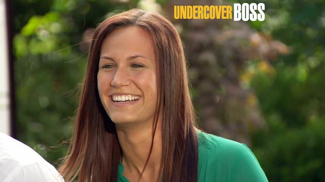 Undercover Boss - Tori's Happy Tears