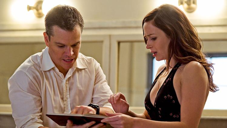 The Adjustment Bureau Production Photos 2010 Universal Pictures Emily Blunt Matt Damon