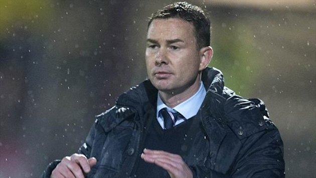 Derek Adams has challenged his Ross County side to turn possession into goals against Motherwell