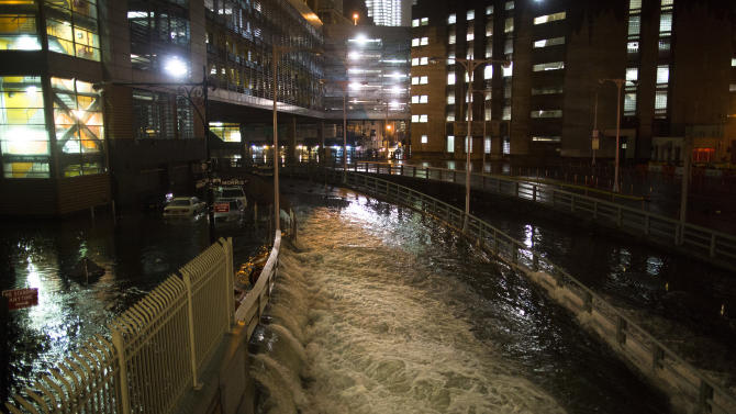 APNewsBreak: Sandy report details NY's storm needs