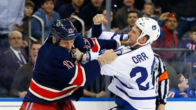 Toronto Maple Leafs v New York Rangers