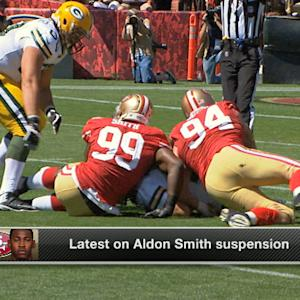 San Francisco 49ers linebacker Aldon Smith likely to return Week 10