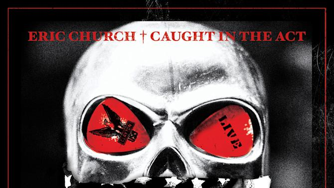 """This CD cover image released by Xenon shows """"Caught in the Act,"""" by Eric Church. (AP Photo/Xenon)"""