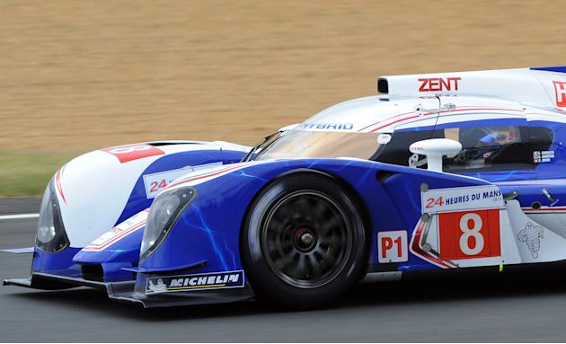 Toyota Ts 030-Hybrid  N°8 driven by Swis