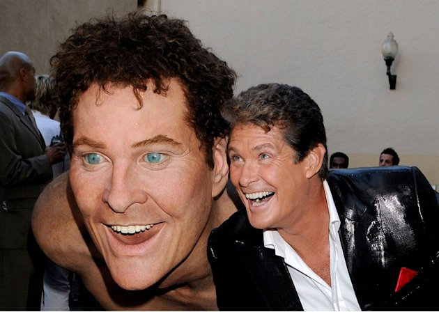 "David Hasselhoff attends the ""Comedy Central Roast Of David Hasselhoff"" held at Sony Pictures Studios on August 1, 2010 in Culver City, California."