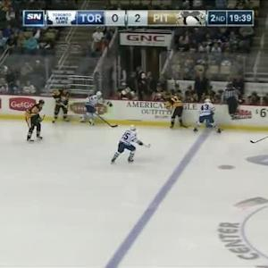 Marc-Andre Fleury Save on Mike Santorelli (00:28/2nd)