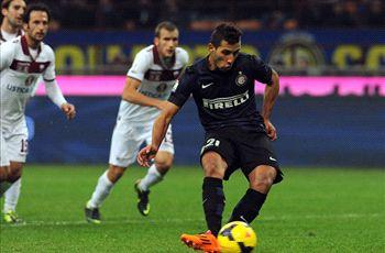 Inter 3-2 Trapani: Mazzarri's men nearly stunned by minnows