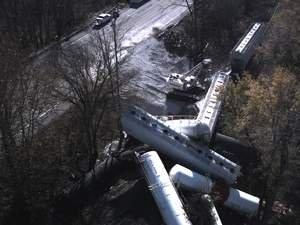 Datron Scout Provides Real-Time Video and Photography to Assist in Recovery and Management Efforts for Chemical Train Derailment
