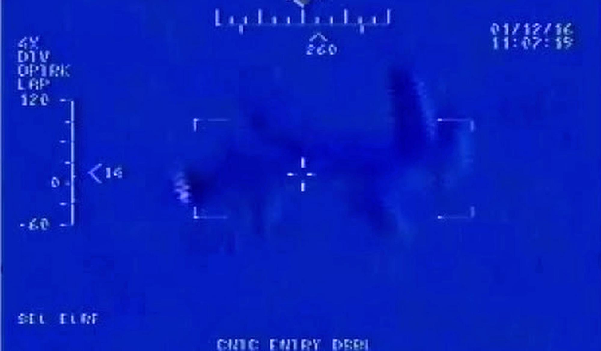 AP Exclusive: Iranian drone first over US carrier since 2014