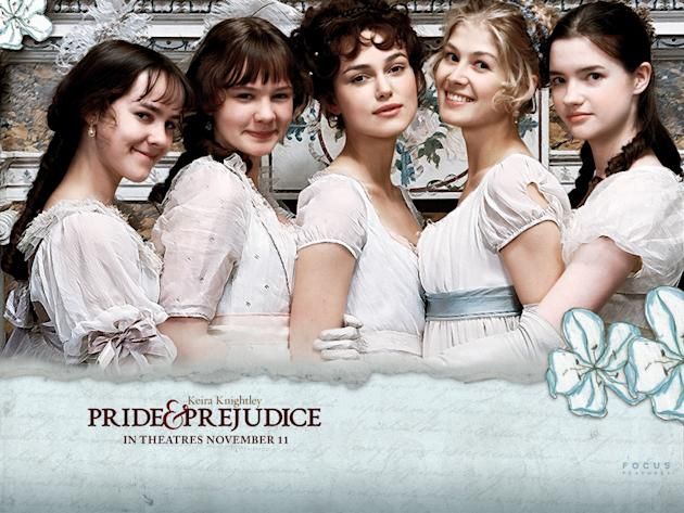 "The romantic dresses of ""Pride and Prejudice"" inspire many real-life weddings."